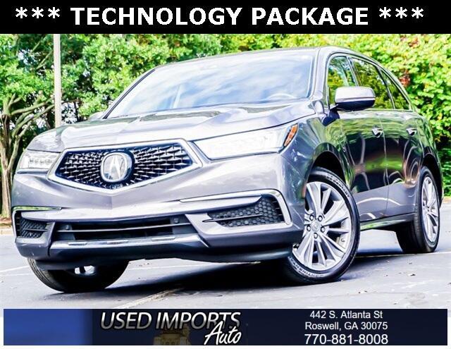 Acura MDX FWD w/Technology Pkg 2017