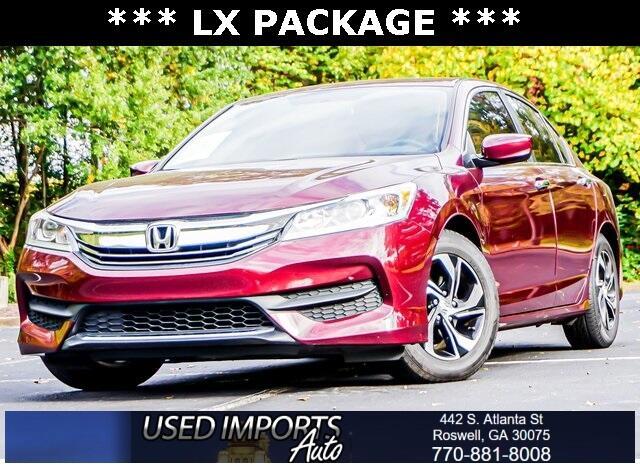 Honda Accord Sedan 4dr I4 CVT LX 2016