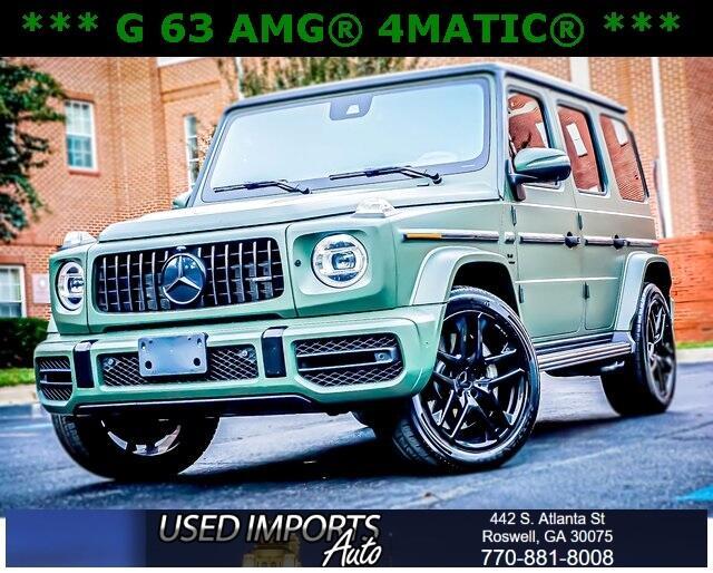 Mercedes-Benz G-Class AMG G 63 4MATIC SUV 2019