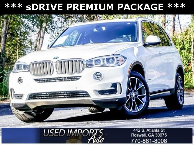 BMW X5 sDrive35i Sports Activity Vehicle 2017