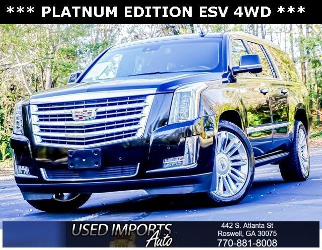 Cadillac Escalade ESV 4WD 4dr Platinum 2016