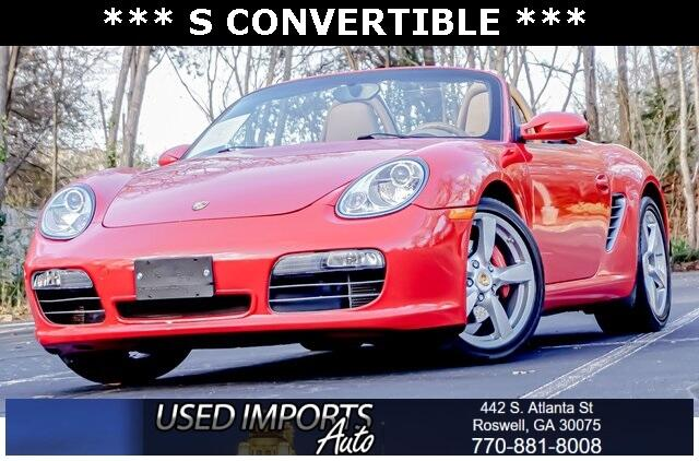 Porsche Boxster 2dr Roadster S Limited Edition 2008