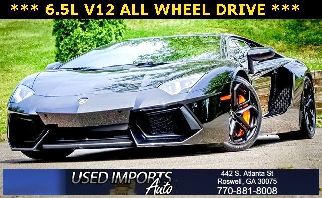 Lamborghini Aventador 2dr Cpe 2012