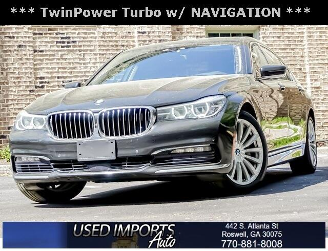 BMW 7 Series 4dr Sdn 740i RWD 2016