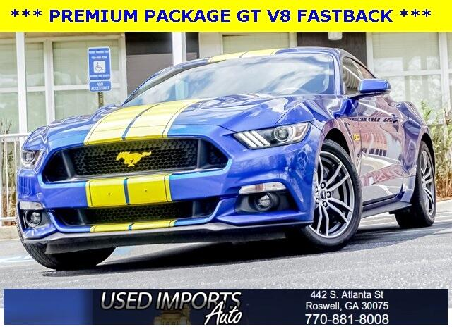 Ford Mustang GT Fastback 2017