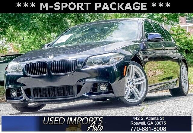 BMW 5 Series 4dr Sdn 535d RWD 2016