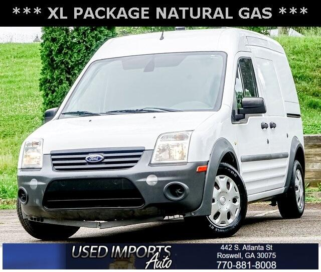 """Ford Transit Connect 114.6"""" XL w/o side or rear door glass 2012"""