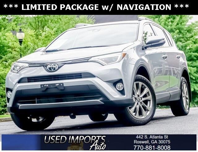 Toyota RAV4 Limited AWD (Natl) 2018