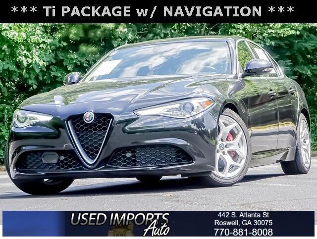 Alfa Romeo Giulia Ti RWD 2018