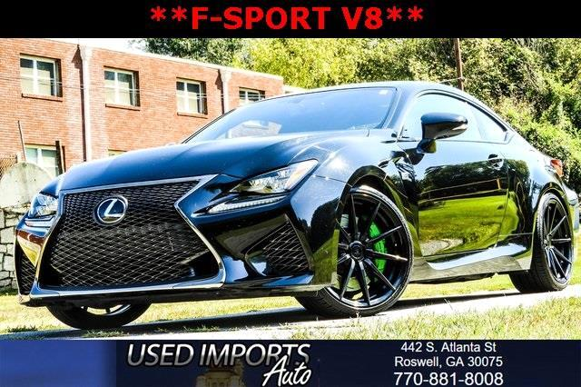 2015 Lexus RC F F-Sports Package