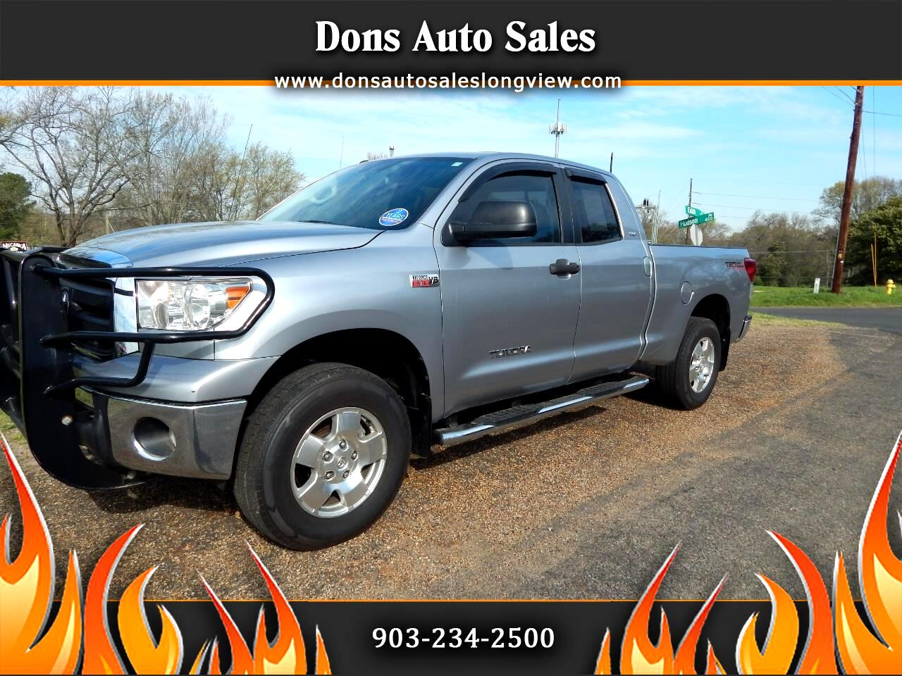 Toyota Tundra 4WD Truck Double Cab 5.7L FFV V8 6-Spd AT (Natl) 2012