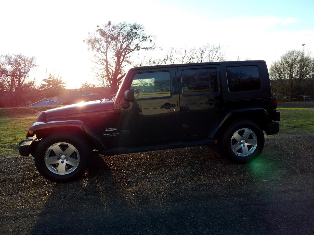 2008 Jeep Wrangler RWD 4dr Unlimited Sahara