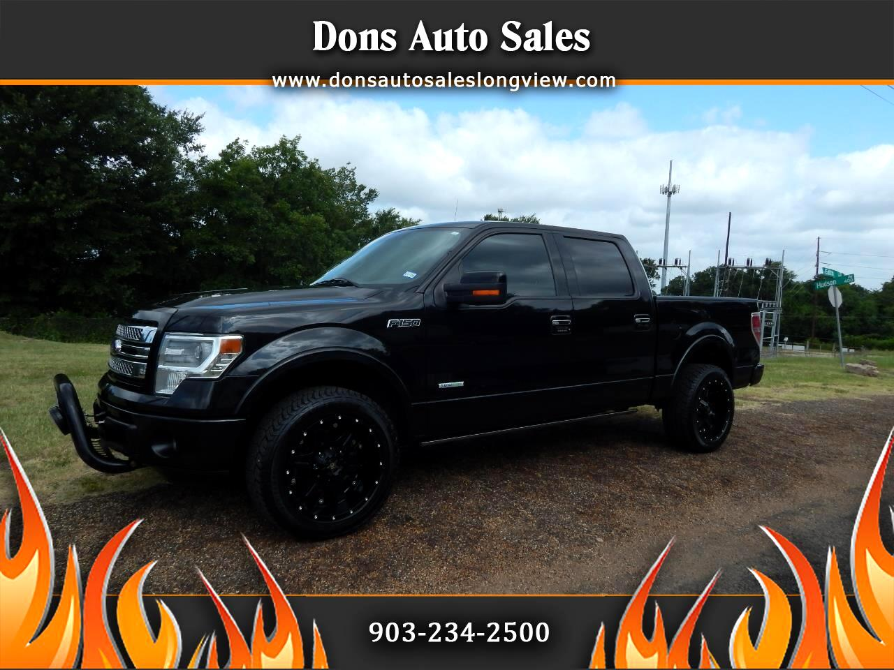 "2013 Ford F-150 4WD SuperCrew 145"" Limited *Late Avail*"