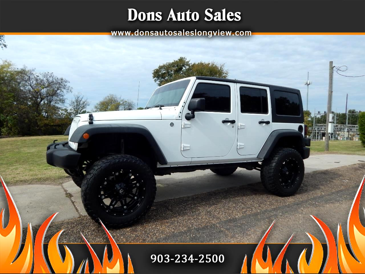Jeep Wrangler Unlimited 4WD 4dr Sport 2012