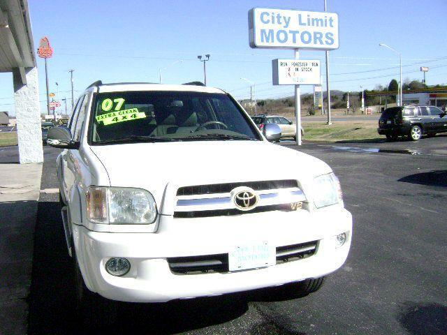 2007 Toyota Sequoia LIMITED 4X4