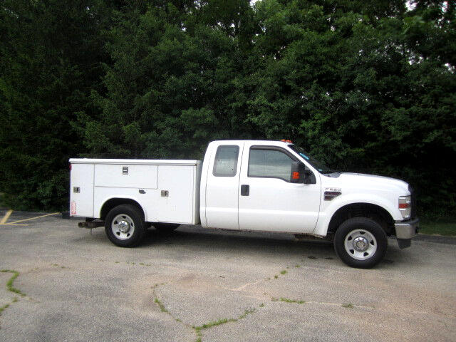 2008 Ford F-250 SD 4x4 EXT CAB UTILITY BODY