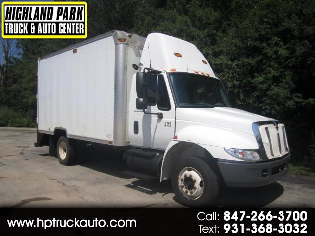 2004 International 4200 LP 14 ft BOX TRUCK MOBILE WORKSHOP