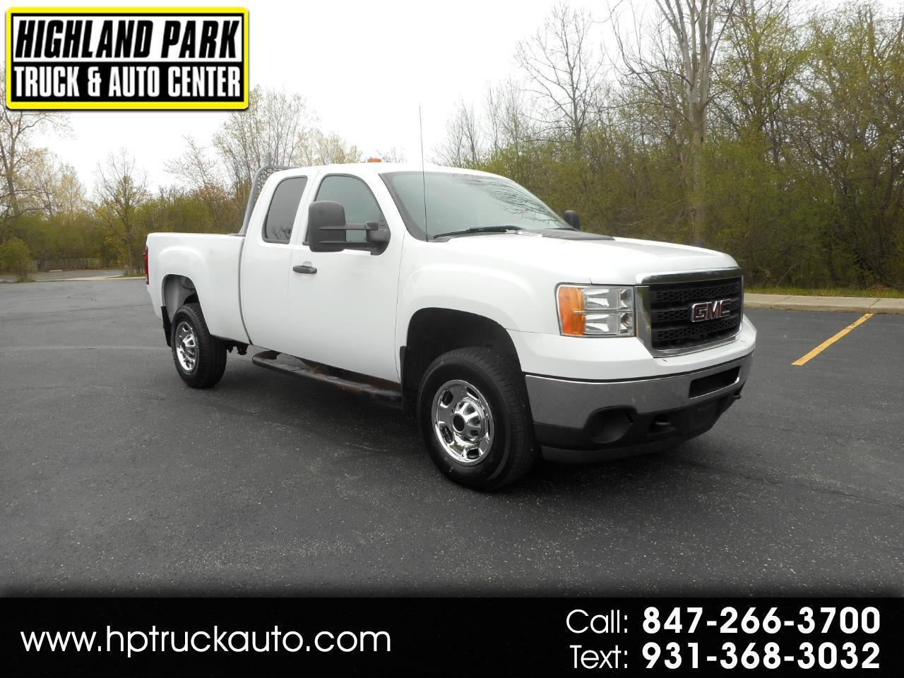 2012 GMC Sierra 2500HD Work Truck Ext. Cab 2WD