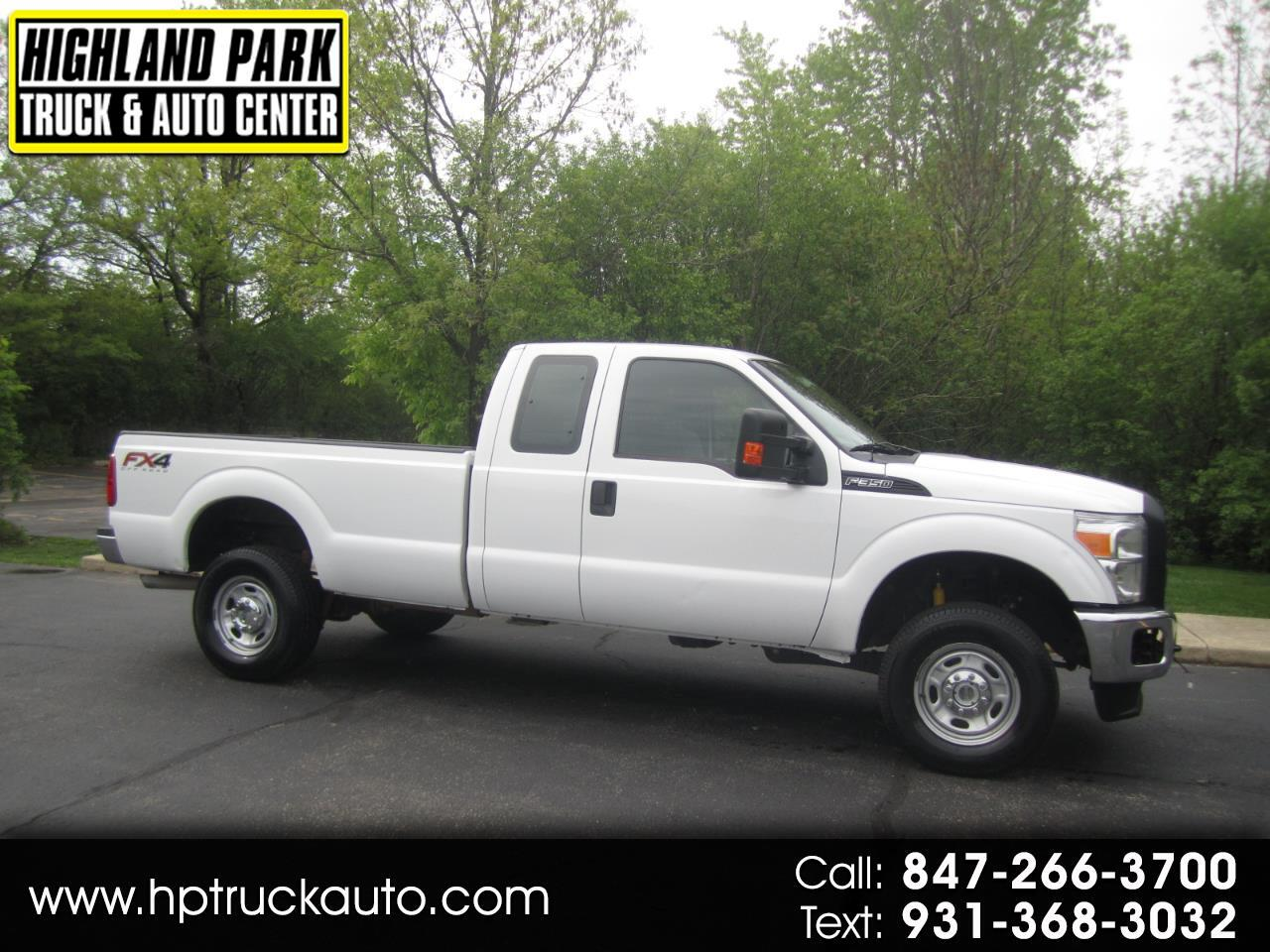 2014 Ford F-350 SD FX4 LONG BED 4X4