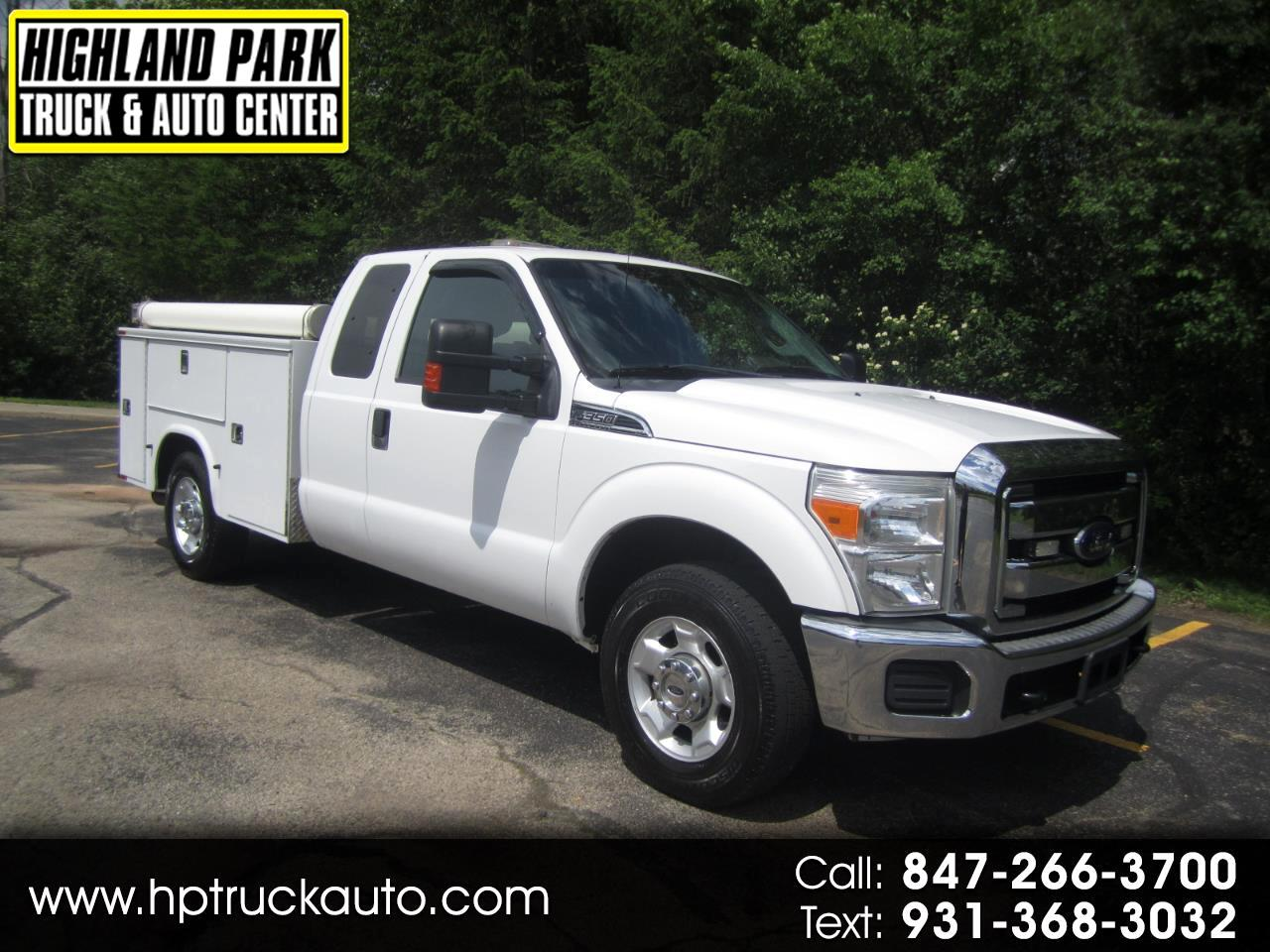 2012 Ford F-350 SD XLT SuperCab 2WD