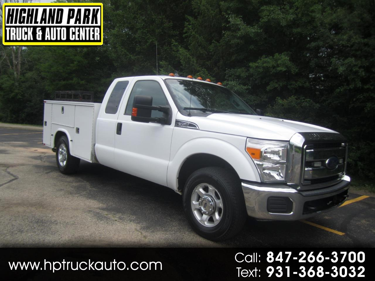 2013 Ford F-350 SD XLT SuperCab Long Bed 2WD