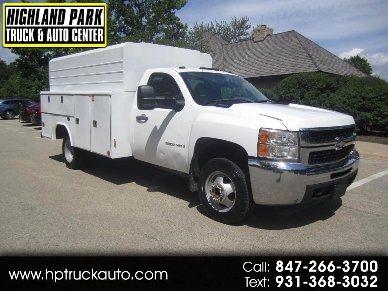 Used 2008 Chevrolet Silverado 3500hd 3500 Dually Diesel Utility For Sale In Chicago Il 60035 Highland Park Truck Auto Center