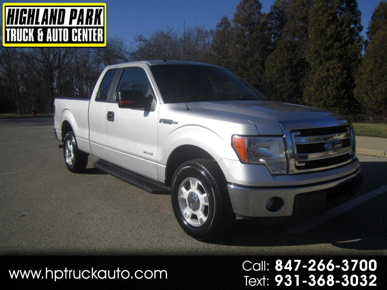 "Ford F-150 2WD SuperCab 145"" XLT 2014"