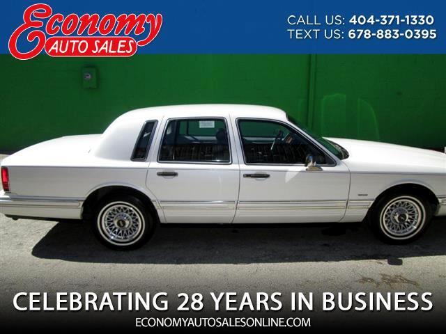 1993 Lincoln Town Car Cartier