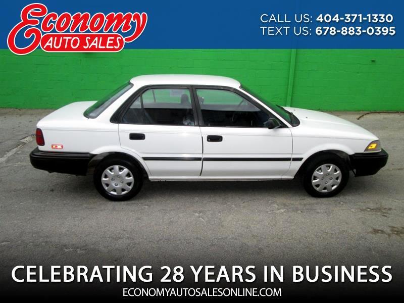 1992 Toyota Corolla DLX