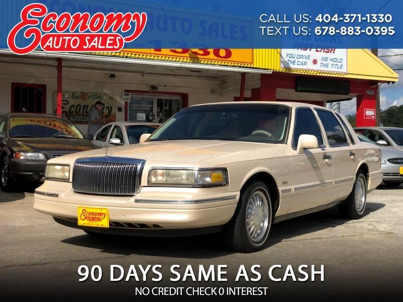 Lincoln Town Car Cartier 1996