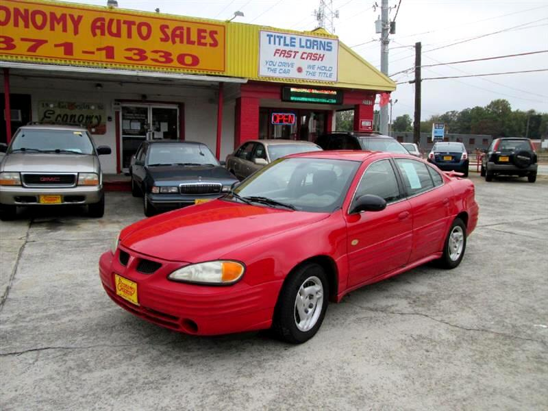Pontiac Grand Am SE1 sedan 2002