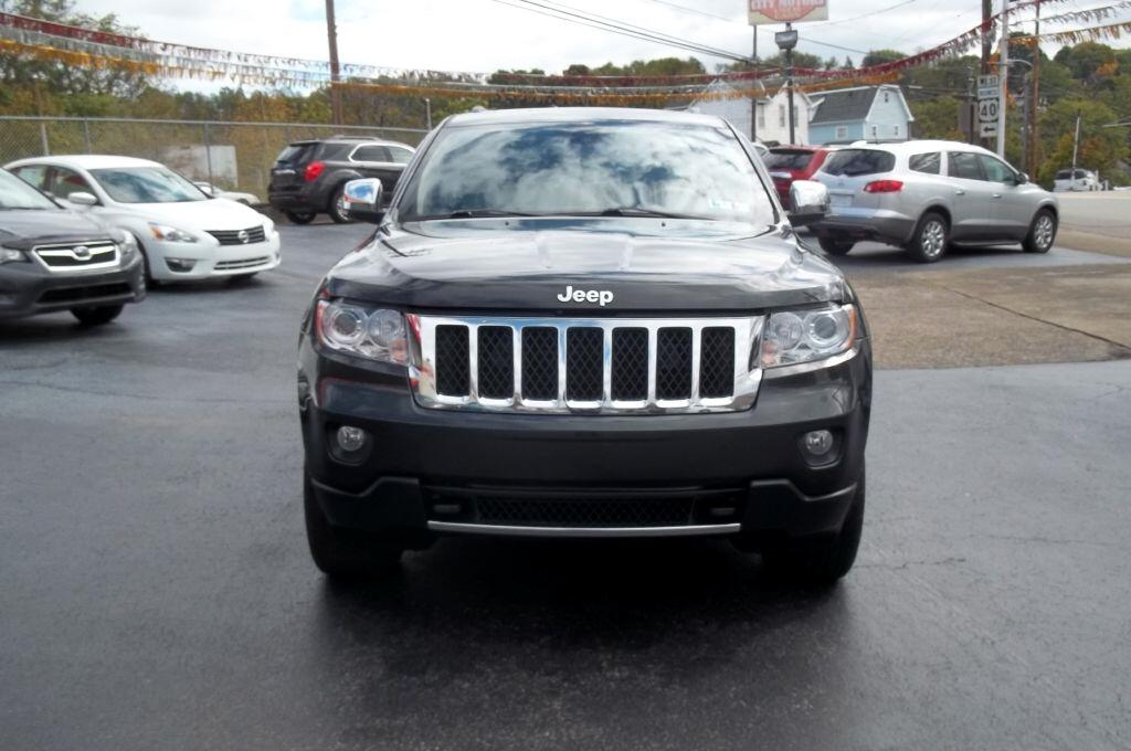 2011 Jeep Grand Cherokee Overland 4WD