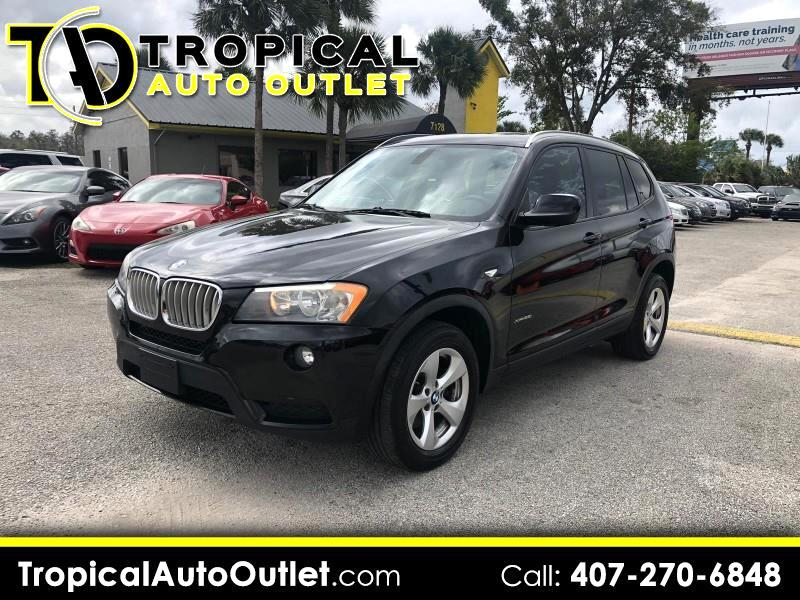 used 2011 bmw x3 xdrive28i for sale in orlando fl 32807. Black Bedroom Furniture Sets. Home Design Ideas