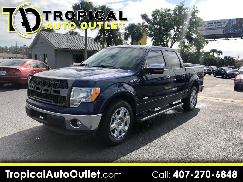 2012 Ford F-150 Lariat SuperCrew 6.5-ft Box 2WD
