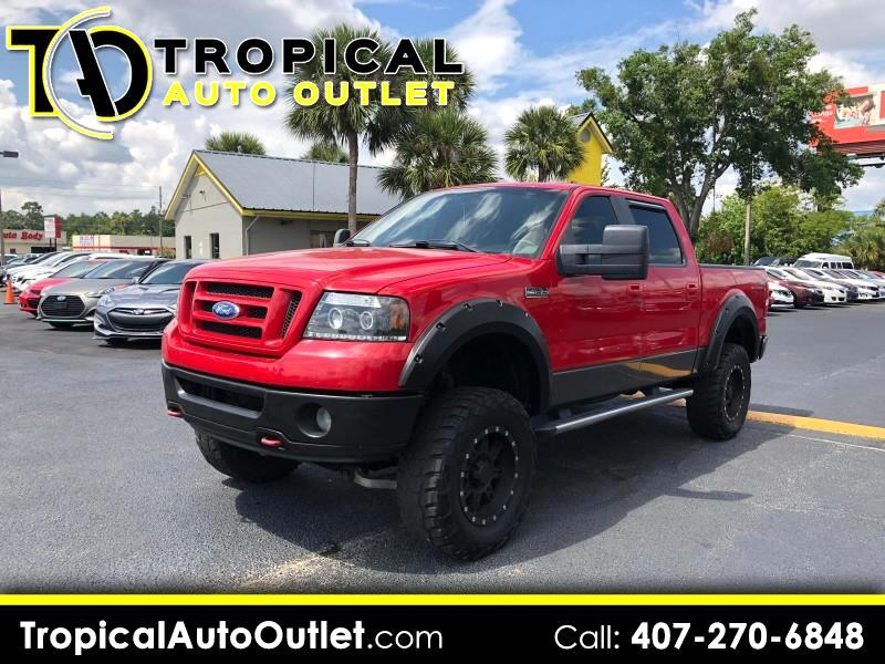 "2008 Ford F-150 4WD SuperCrew 139"" FX4"