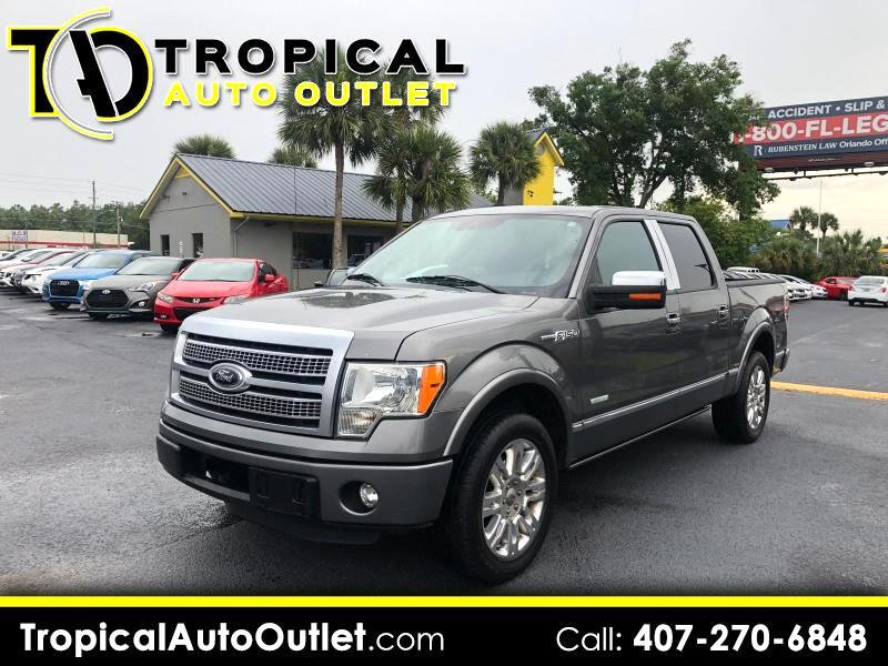 "2012 Ford F-150 2WD SuperCrew 157"" Platinum"