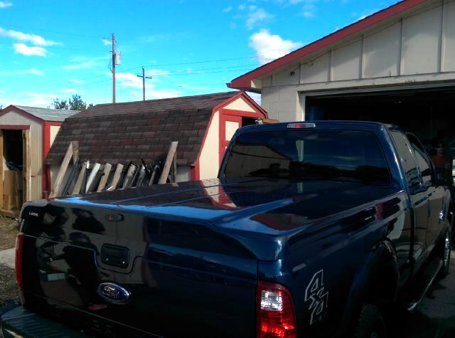 Used 1 Ford Super Duty F250 2008 Short Bed Leer 700 Tonneau Cover