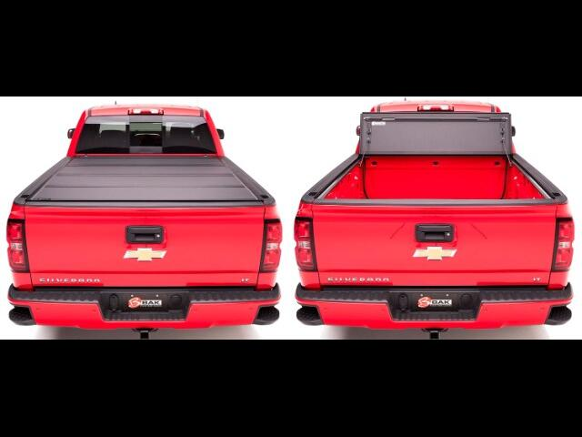 1 Chevrolet SILVERADO 1988-Current Long Bed MX4 Tri-Fold Tonneau Cover