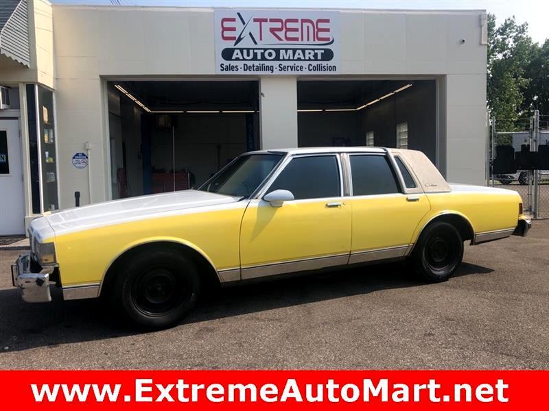 1987 Chevrolet Caprice Classic Classic Brougham