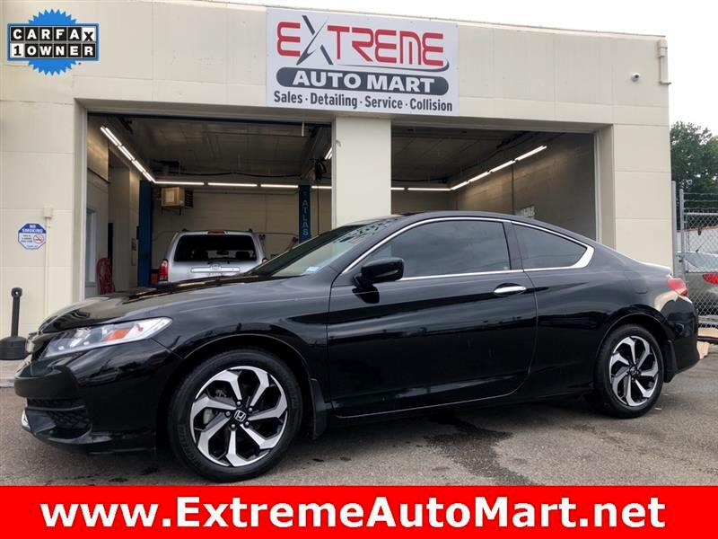 2017 Honda Accord EX V-6 Coupe 6-Speed MT with XM Radio