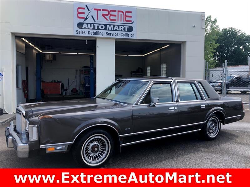 1986 Lincoln Town Car Limited
