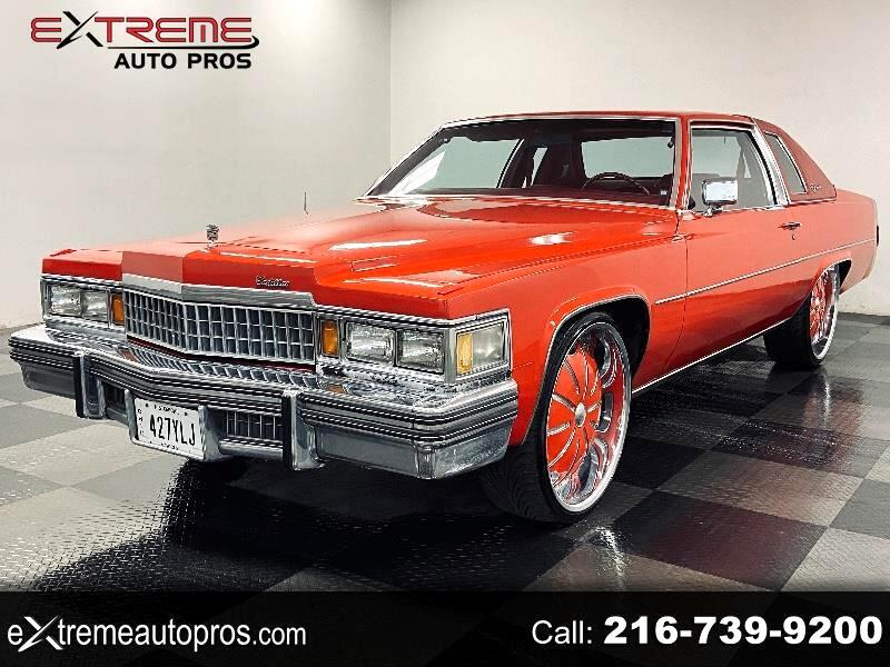 Cadillac Coupe De Ville Base 1978