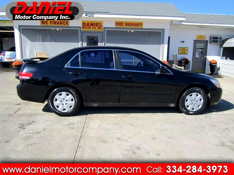 2003 Honda Accord LX sedan AT