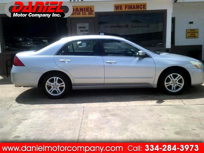 2006 Honda Accord LX SE Sedan AT