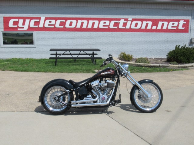 2003 Custom Motorcycle Chopper Independence Freedom Express