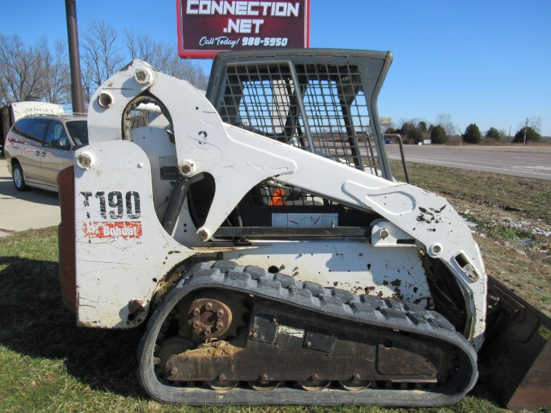 Bobcat T190 Skid Steer  2008