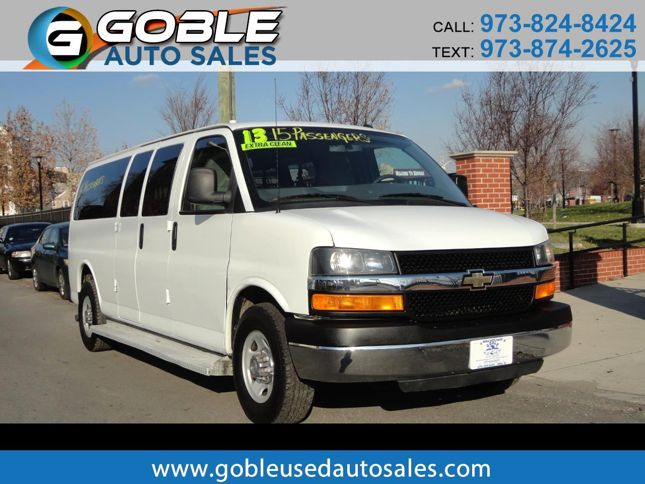 2013 Chevrolet Express Passenger RWD 3500 155