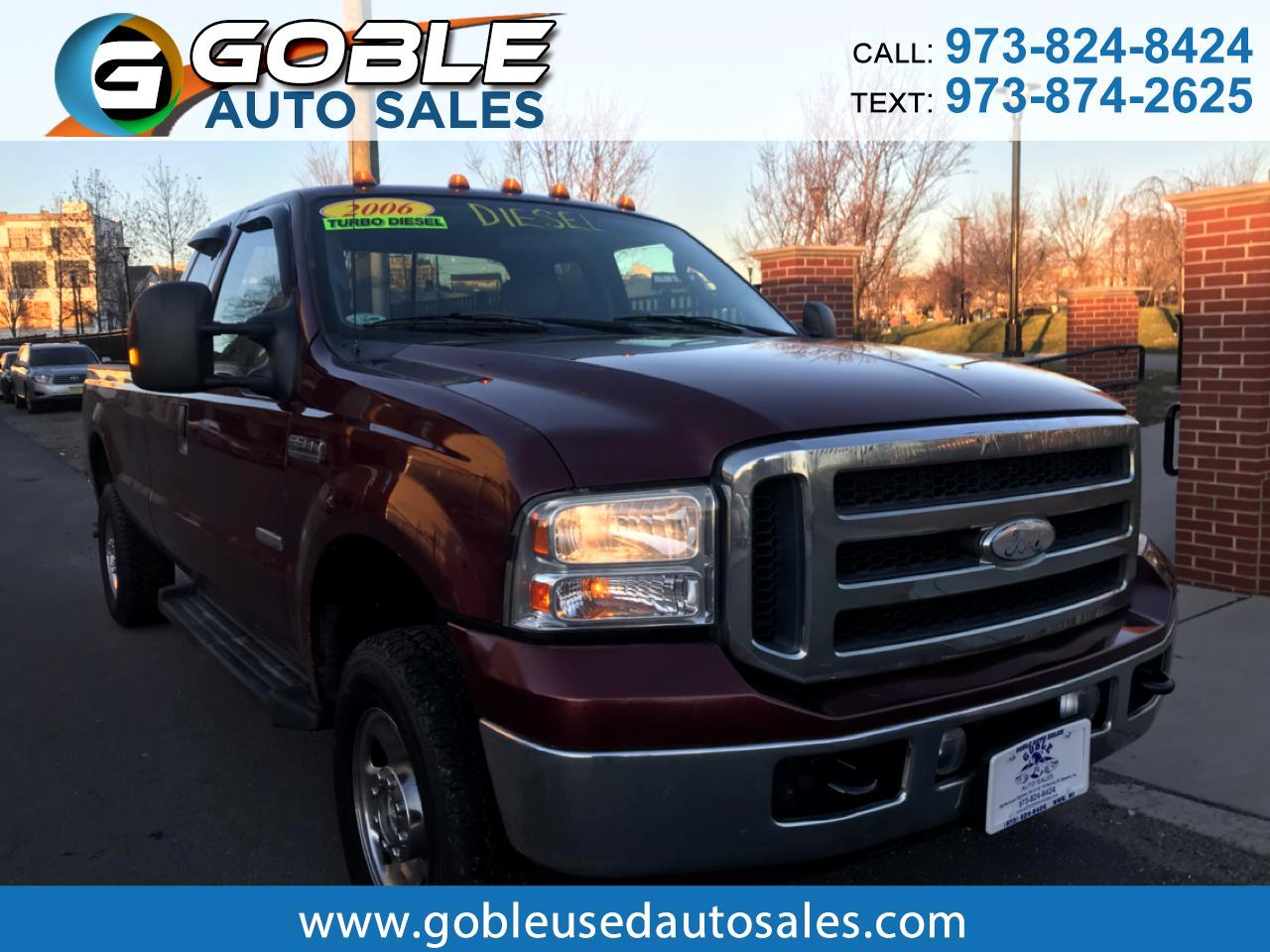 "2006 Ford Super Duty F-250 4WD SuperCab 158"" XLT"