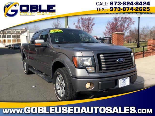"2011 Ford F-150 4WD SuperCrew 145"" FX4"