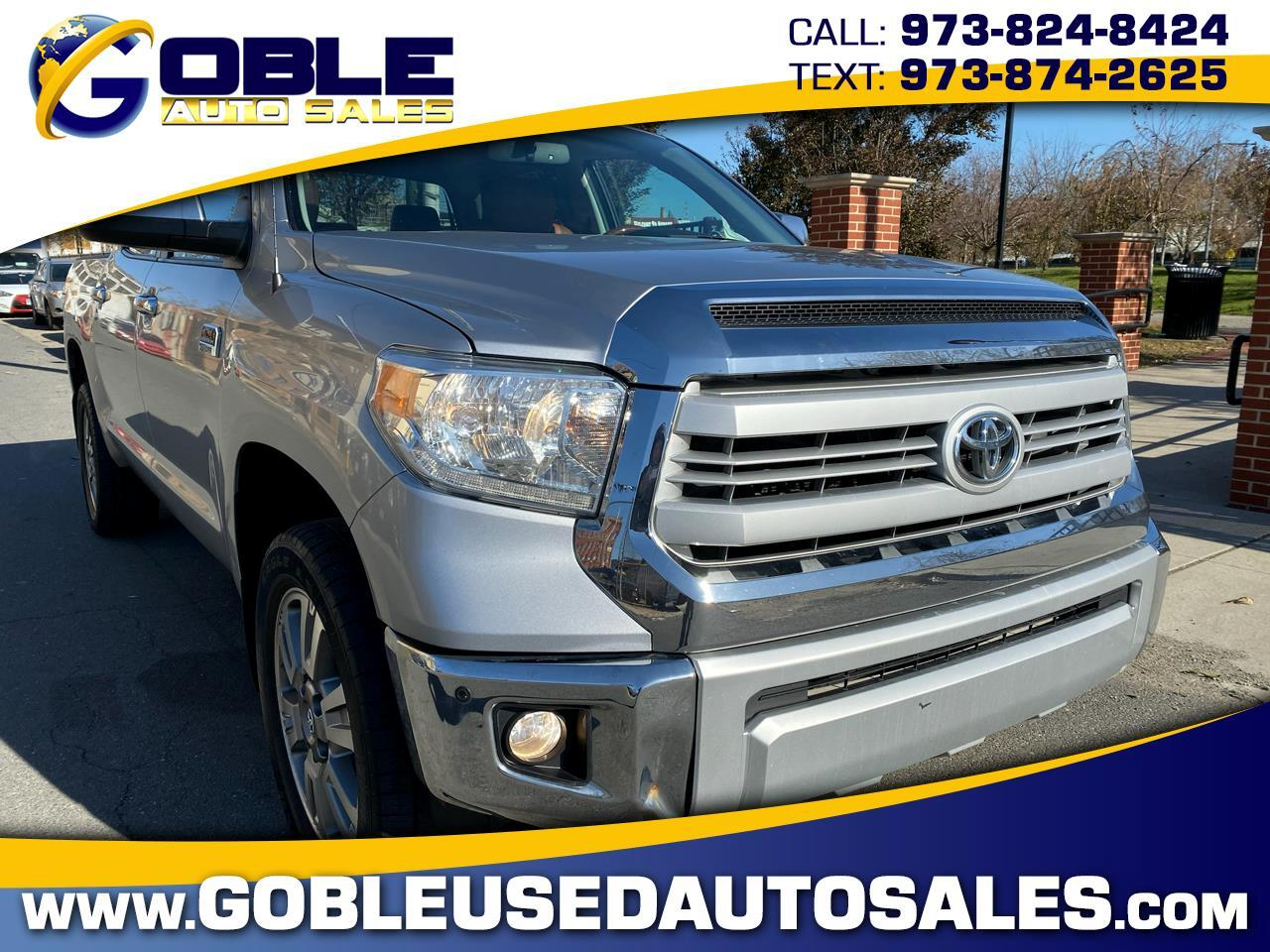 2014 Toyota Tundra 4WD Truck CrewMax 5.7L V8 6-Spd AT 1794 (Natl)